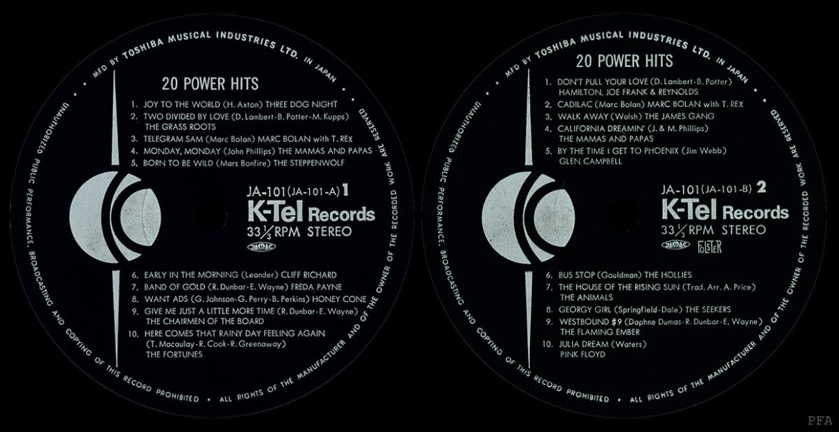k-tel record selecter