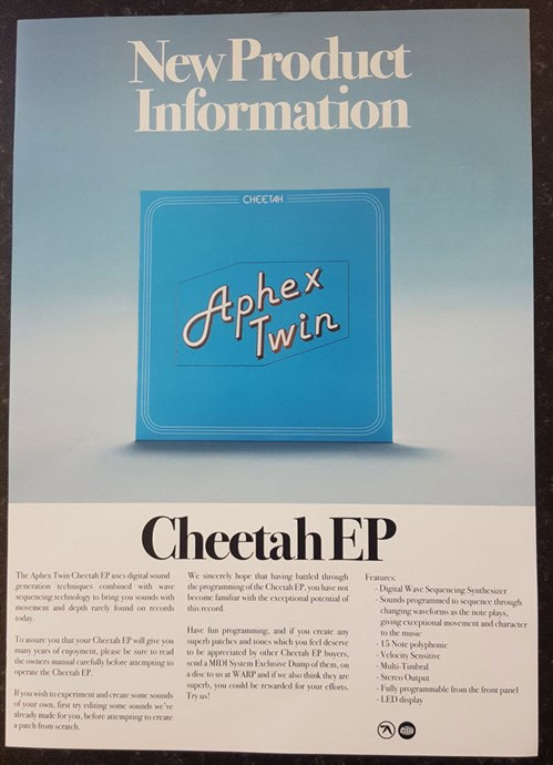 Aphex Twin  – CheetahEP
