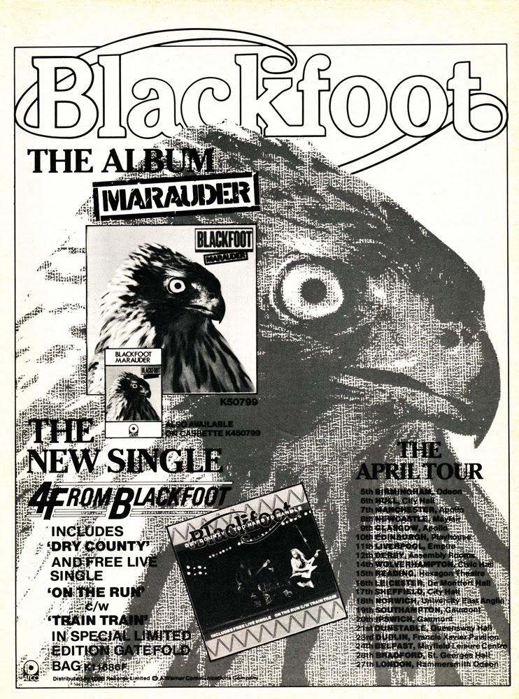 Blackfoot – Hammersmith Odeon1982